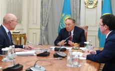 Meeting with Kairat Kelimbetov, Governor of Astana International Financial Centre