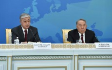 "The President of Kazakhstan took part in the ceremony of awarding the ""Nazarbayev Prize for Nuclear Weapon Free World and Global Security"""