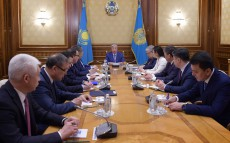 Kassym-Jomart Tokayev holds meeting with the Presidential Administration leadership