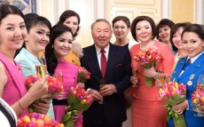 "Meeting with representatives of Kazakhstan's ""Koktem Shuagy"" Women's Community"