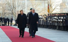 Kassym-Jomart Tokayev and Angela Merkel held talks