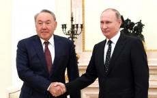 Meeting with Vladimir Putin, President of the Russian Federation