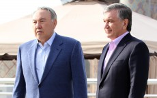 Meeting with the President of Uzbekistan Shavkat Mirziyoyev