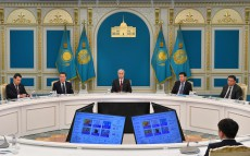 "The Head of State held a meeting on the implementation of the ""Digital Kazakhstan"" State Program"
