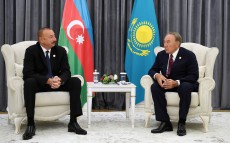 Meeting with President of Azerbaijan Ilham Aliyev
