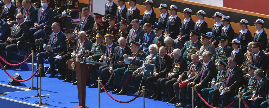 President of Kazakhstan attends the military parade on the occasion of the 75th anniversary of Victory in the Great Patriotic War